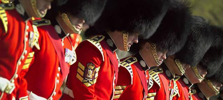Changing of the Guard - Georgian House Hotel London