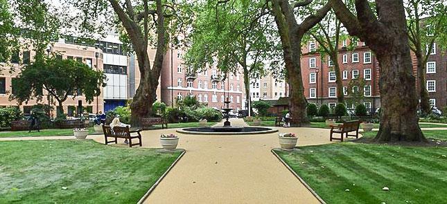 ebury street and ebury square gardens georgian house hotel london